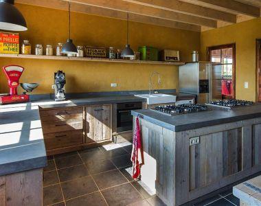 Keuken - Natuur Boerderij Plassendaal